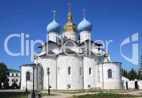 Annunciation Cathedral in Kazan Kremlin
