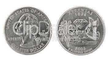 Quarter Dollar Arkansas