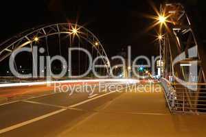 Luitpoldbrücke bei Nacht 4