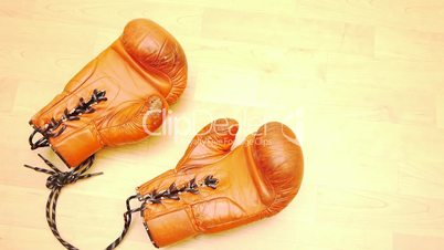 boxing gloves - one pair - red