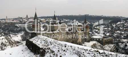 Panorama of Kamyanets-Podilsky Castle