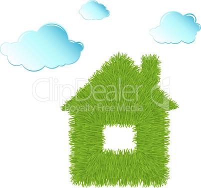 Eco House and Clean Clouds