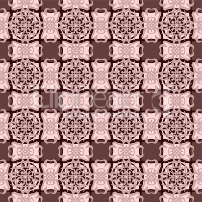 Cream pattern.
