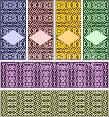 Complete set of patterns.