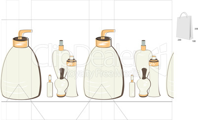 Template for bag