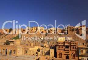 """Jaisalmer """"die goldene Stadt"""" in Rajasthan, Indien"""