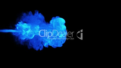 Colorful Abstract smoke stream