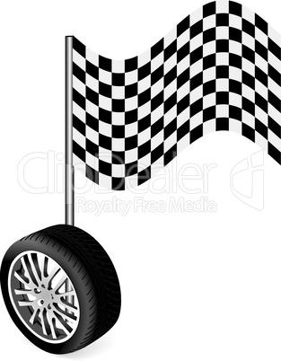 Vector tire