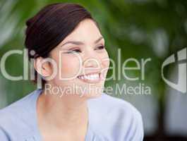 Portrait of an assertive businesswoman