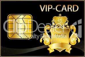 VIP Card mit Wappen