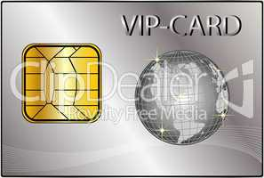 VIP-Card mit Globus