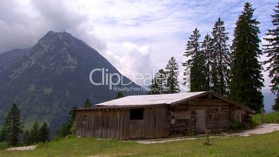 time lapse sequestered cottage austria