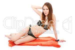 Bikini woman.