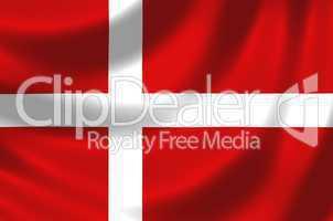 Nationalfahne von Dänemark