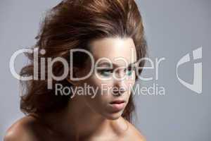 Wild hairstyle