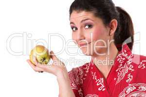 Life healthy, eat an apple