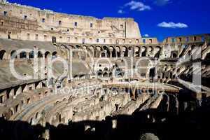 Inside Roman Colosseum