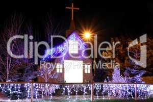 christmas church decoration