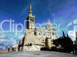 Basilica Notre-Dame-de-la-Garde, Marseilles, France