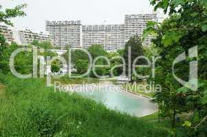 Olympisches Dorf in München