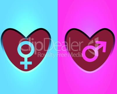 Simbols hearts