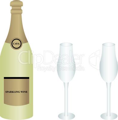 bottle cava