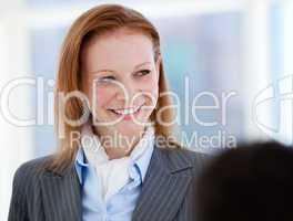 Portrait of a confident businesswoman standing