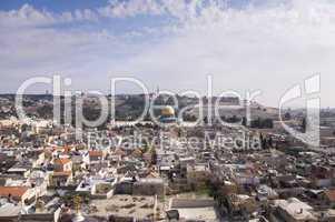 Jerusalem, Stadtansicht