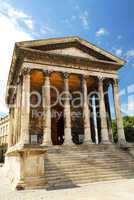 Roman temple in Nimes France