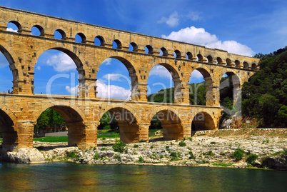 Pont du Gard in southern France