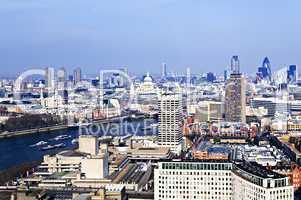 Cityscape from London Eye