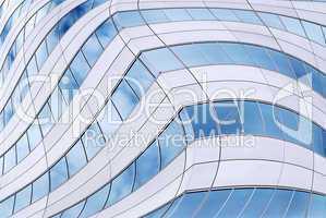 Futuristic skyscraper background