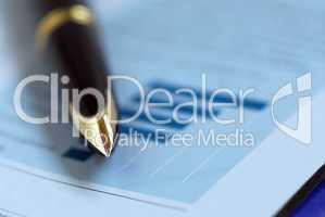 Pen finance chart