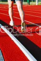 Running on racetrack