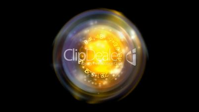 Rotating light ball and figure,computer tech background.Jewelry,diamonds,luxury,wealth,Geometry,crystal,lasers,Divination,gypsy,water-droplets,dew,focus,pattern,symbol,dream,vision,idea,creativity,creative,vj,beautiful,art,decorative,mind,Game,Led,neon li