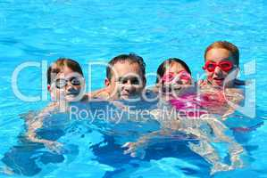 Happy family pool