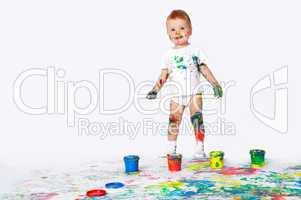 pretty baby paint