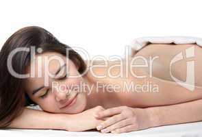 beauty young girl  day spa