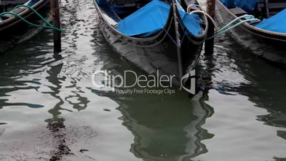 boat on pier - close up