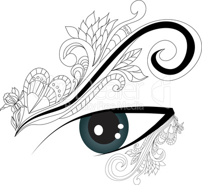 Decorative eye