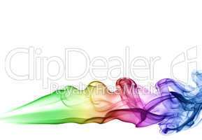 Colored smoke puff