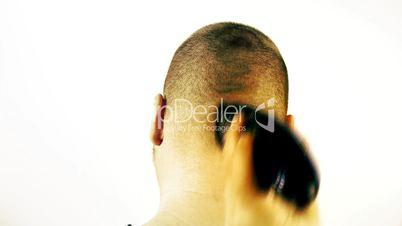 Hair Cut Fast with Clipper