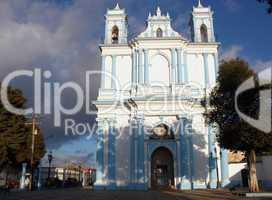 San Cristóbal de Las Casas - Iglesia de Santa Lucía , Chiapas, Mexico