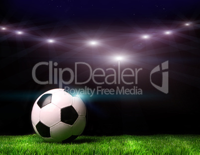 Fußball auf Rasen