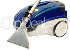 Vacuum cleaner isolated