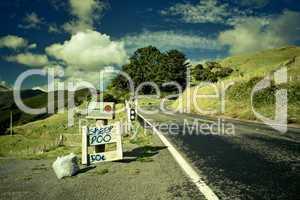 Roadside advertising