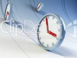 running clocks
