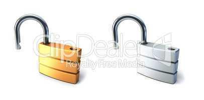 metal open lock
