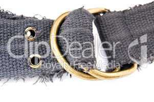 buckle of the textile belt