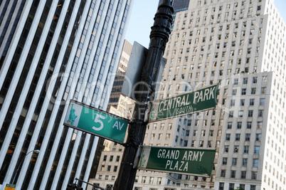 5th Avenue Straßenschild